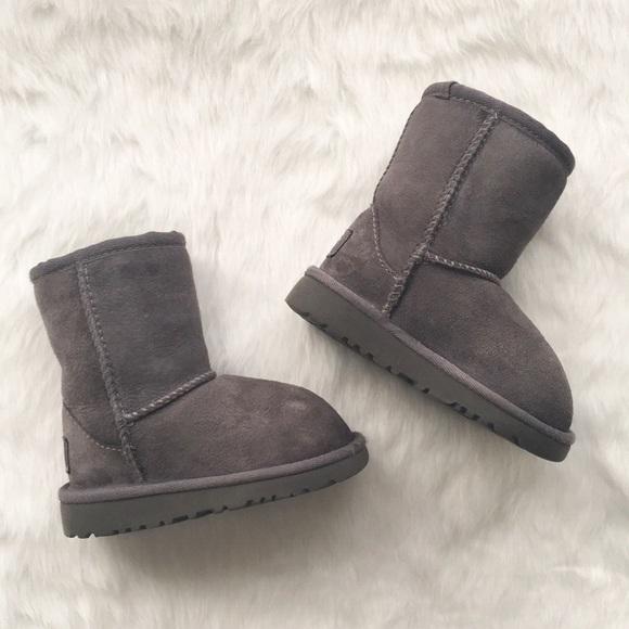 Toddler Girl Grey Classic Ii Ugg Boot